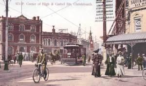 Tram Cashel St. Image via Ian Athfield