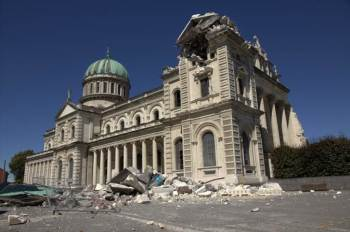 Damaged building Christchurch 2011 Image Steve Brazier Dept PM and Cabinet