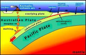An East Coast subduction earthquake could be large and devastating - Dr Helen Anderson. Image via GNS